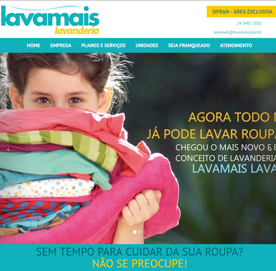 Lavamais - Website
