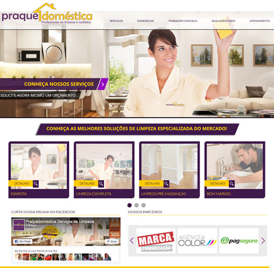PraqueDoméstica - Website